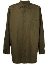удлиненная рубашка Yohji Yamamoto