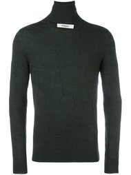 split roll neck jumper  Chalayan
