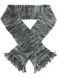 шарф в полоску  YMC