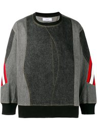 panelled sweatshirt Facetasm