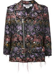 байкерская куртка с цветочным узором Comme Des Garçons Comme Des Garçons