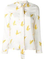 блузка с принтом 'wheat' Erika Cavallini