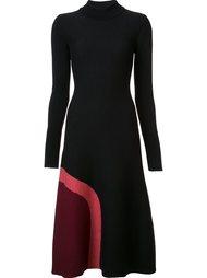 расклешенное платье-свитер Novis