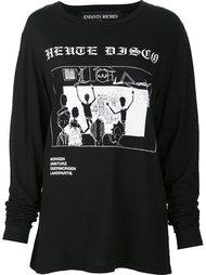 disco print sweatshirt Enfants Riches Deprimes