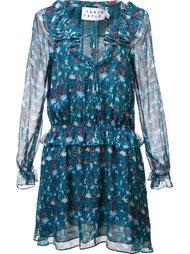 платье с цветочным принтом   Tanya Taylor