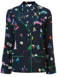 printed pyjama set Mira Mikati