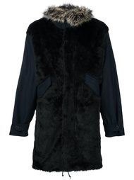 пальто с отделкой из искусственного меха Ps By Paul Smith