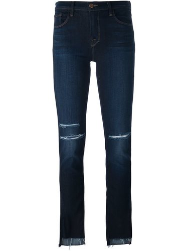 укороченные джинсы кроя слим J Brand