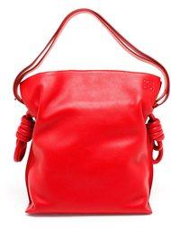 сумка на плечо с тисненым логотипом Loewe