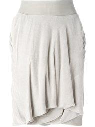 драпированная юбка  Rick Owens