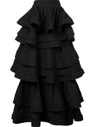three layer ruffle skirt Rosie Assoulin