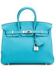 маленькая сумка-тоут 'Clemence Birkin' Hermès Vintage