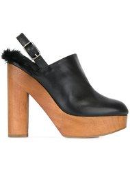 туфли на платформе Castañer