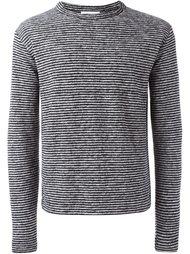 свитер в полоску  YMC