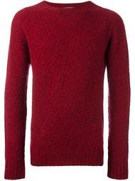свитер с круглым вырезом   YMC