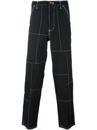 брюки прямого кроя Comme Des Garçons Shirt