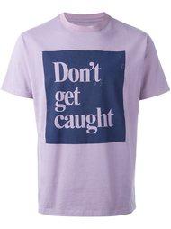 футболка 'Don't Get Caught'  Roundel London