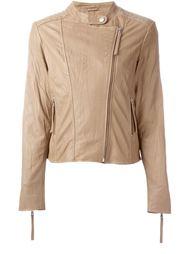байкерская куртка с эффектом помятости P.A.R.O.S.H.