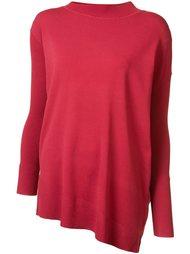 свитер с разрезами по бокам Victor Alfaro