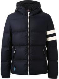 дутая куртка с контрастными полосками   Guild Prime