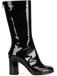vinyl mid-calf boots Marios