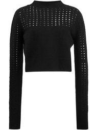 'Marion' knitted blouse Misha Nonoo