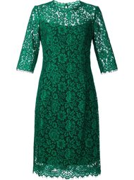 floral lace dress Carolina Herrera