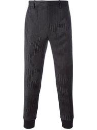 брюки с камуфляжным принтом  Neil Barrett