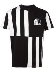 футболка с контрастными полосками   Roundel London
