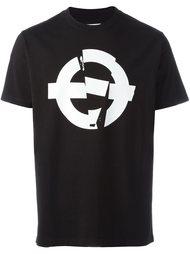 футболка с принтом логотипа   Roundel London
