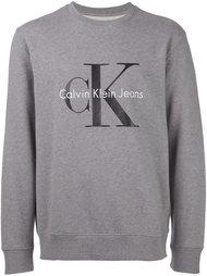 logo print crew neck sweatshirt Calvin Klein Jeans