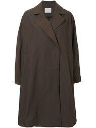 однобортное пальто свободного кроя Rito