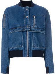 джинсовая куртка-бомбер Courrèges