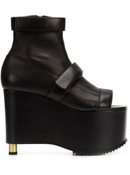 chunky platform boots Vera Wang