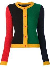 colour block cardigan The Elder Statesman