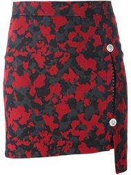 камуфляжная юбка Versus