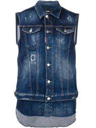 джинсовый жилет  Dsquared2