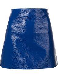лакированая юбка  Courrèges