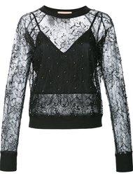 прозрачная кружевная блузка Loyd/Ford