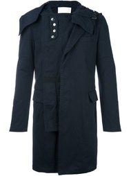 многослойное пальто Sacai