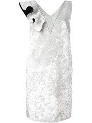 платье с V-образным вырезом MSGM