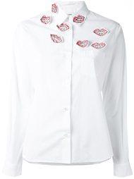рубашка с аппликацией 'Kiss' Jimi Roos