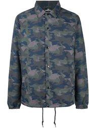 камуфляжная куртка с логотипом сзади Les (Art)Ists