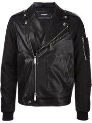 куртка с рукавами в стиле куртки бомбер Dsquared2