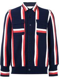 трикотажная куртка-рубашка Sacai