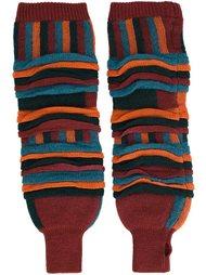 tucked jacquard leg warmers Issey Miyake Men