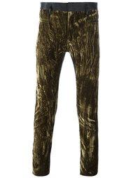 брюки с бархатной панелью Haider Ackermann