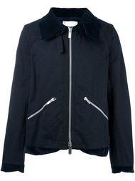 куртка с контрастным воротником Sacai