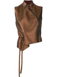 блузка с завязками сбоку Ann Demeulemeester