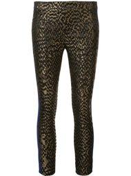 jacquard contrast stripe trousers Haider Ackermann